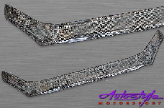 Carbon Look Bonnet Shield for Hyundai Tucson