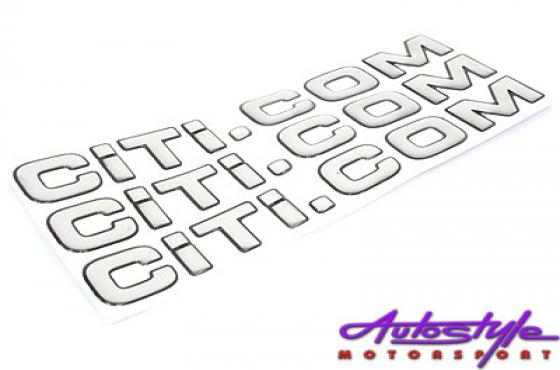 Citi.com Gel Sticker