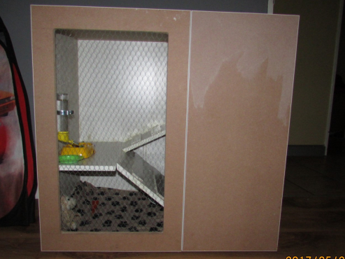 Guinea pig, hamster or rat custom cage