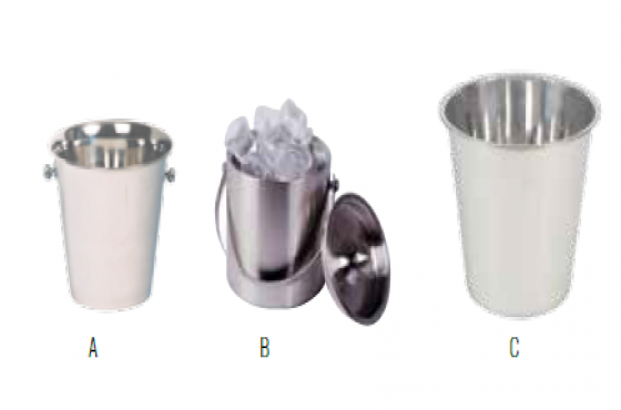 S/STEEL ICE BUCKETS