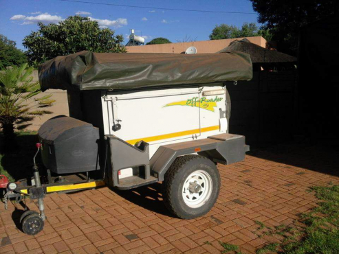 Eco off road camping trailer