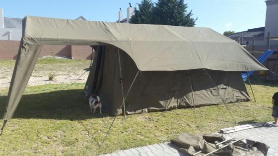 C&mor Millennium Family tent (canvas) & Campmor Millennium Family tent (canvas) | Junk Mail