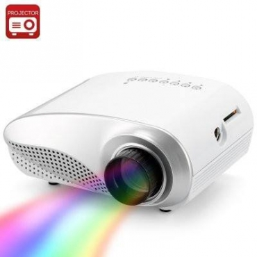3D Portable Mini Home Multimedia Cinema LED Projector HD 1080P Support AV TV VGA USB HDMI