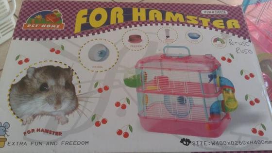Hamster hok te koop.