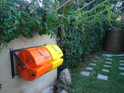 YOLO Compost Tumbler, small double