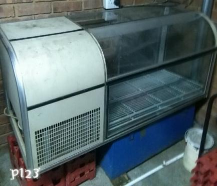 Counter fridge