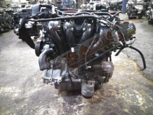 MAZDA -L3 2.3L EFI 16V SIDE COIL Engine -Black & Silver Top