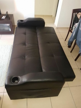 Decofurn Pleather Sleeper Couch Junk Mail