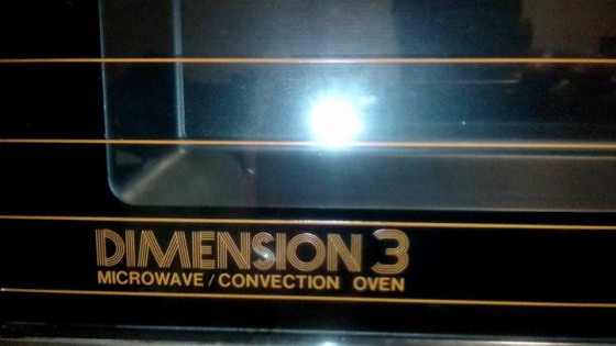 Dimension 3 microwave convection oven