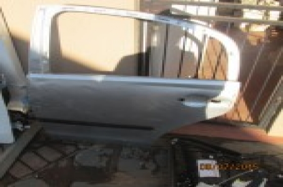 2007 Volkswagen Polo Classic Left Rear Door Shell Silver For Sale