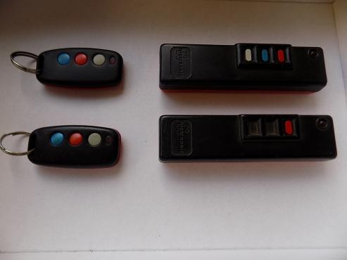 3-button remotes