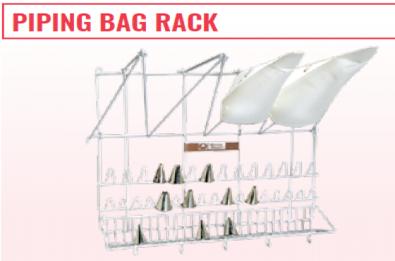 PIPING BAG RACK