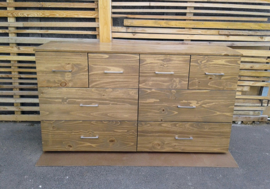 Custom Chest of 8 Drawers