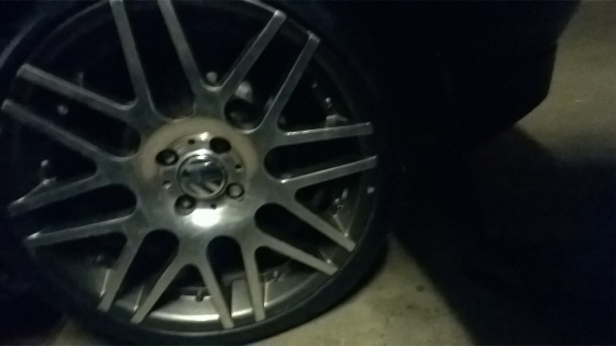 17 wheels wth tyres