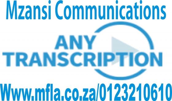 Professional Mandarin transcription services