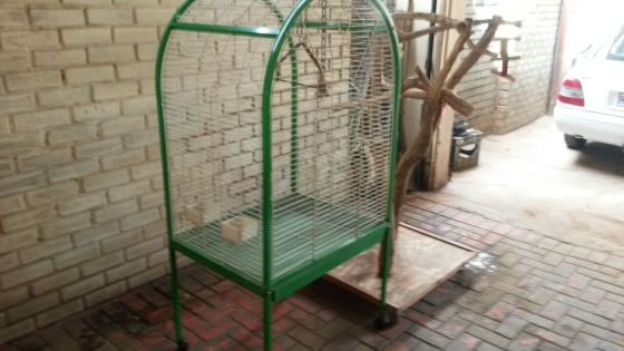 Parrot Cage n Perch