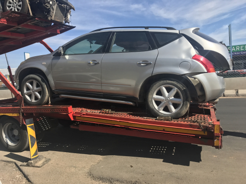 NISSAN MURANO STRIPPING FOR SPARES ALL PARTS AVAILABLE