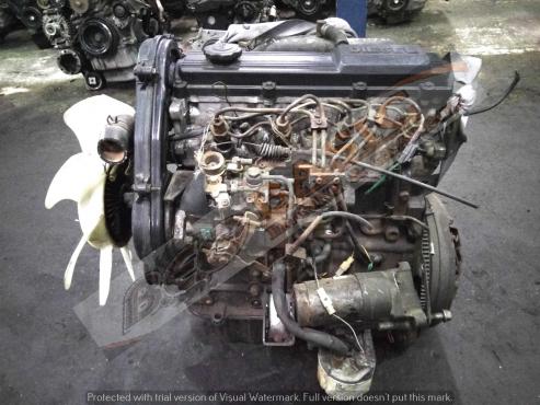 MAZDA BONGO B2200 -R2  2.2L NON-TURBO DIESEL Engine -( Black or Silver Top )