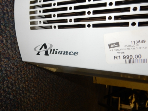 Alliance Air Curtain