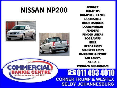 Nissan Np200 08 Brake Pads Available Junk Mail