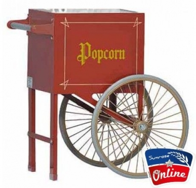 Gas/Electric Popcorn Machine + Cart Now Available On Credit (MobiCred)