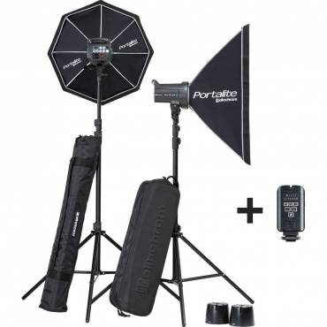 Studio flash kit (Elinchrom)