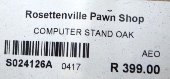 Computer Stand Oak S024126A