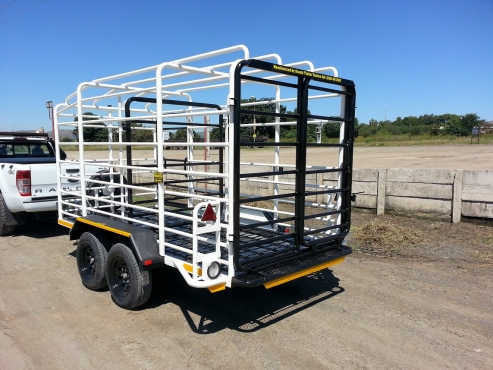 Durable High Quality Standard &‎ Custom Cattle Trailer Call Now