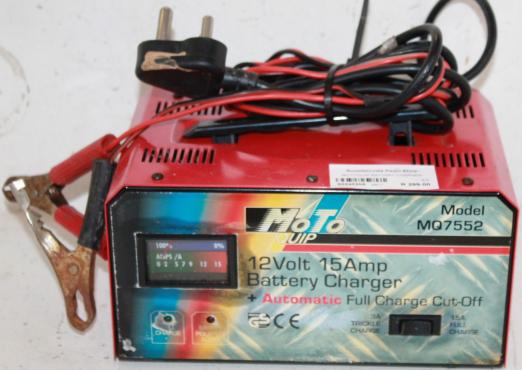 Motoquip Battery Cha