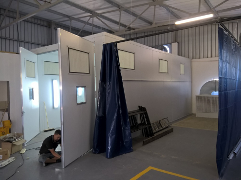 CAR/Quantum/Sprinter SPRAY BOOTHS -DIY From R68500 - Build