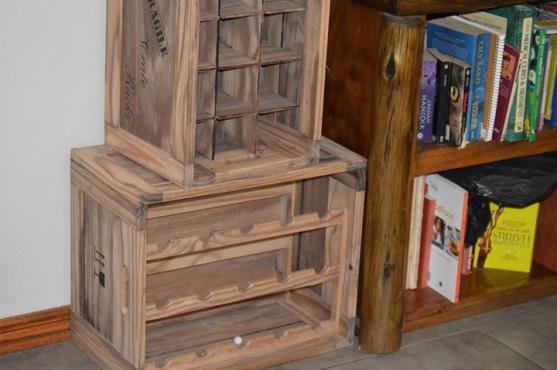 Wooden Wine Racks Junk Mail