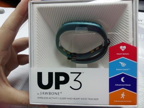 New Jawbone UP3 fitness tracker