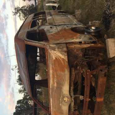 Toyota Quantum burn stripping for parts