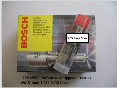 Upgrade Diesel Injector Nozzles for 1.9 TDI VW and Audi (up to /pre 2003 Model)