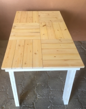 Patio table Cottage series 1500 Two tone