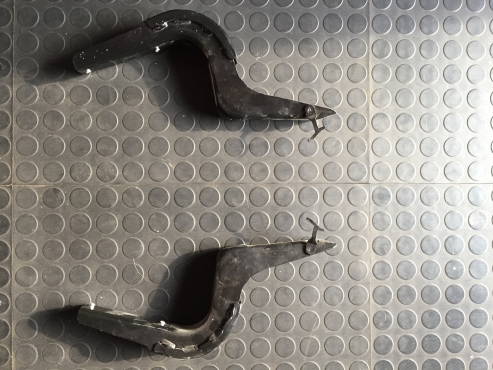 Toyota Hilux 2.8D 2018 Side Step Brackets - Brand New