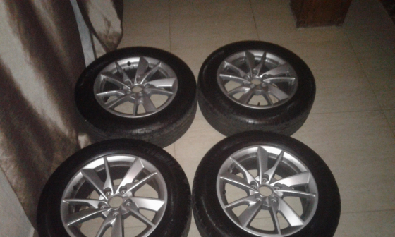 16 inch mags and tyres