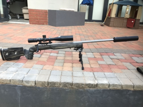 .300WSM Mojet Rifle for sale