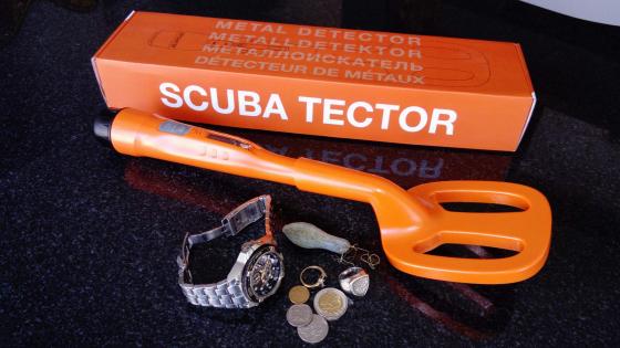QUEST / Deteknix Scuba Tector - Waterproof Hand Held Metal Detector, 60m