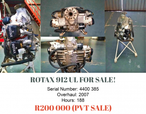 Rotax 912 Engine For sale! | Junk Mail