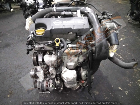 OPEL CORSA -Z17DT 1.7L TURBO DIESEL EFI 16V Engine -