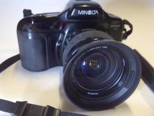 Minolta SLR Dynax 7xi film - AF 28-105mm lens