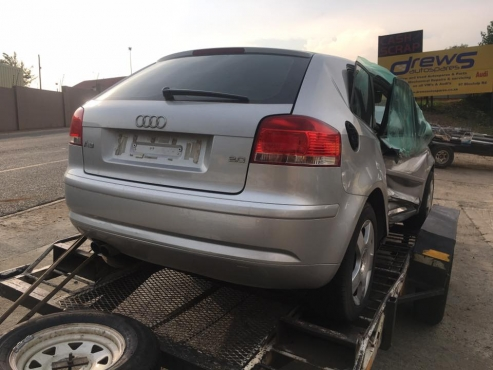 AUDI A3 2.0FSI STRIPPING FOR SPARES