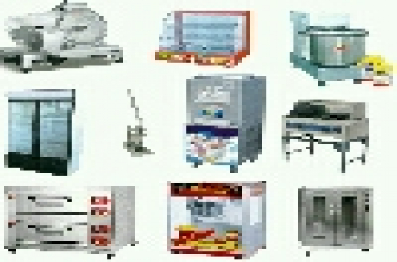 All equipment for take aways butchers and bakeries