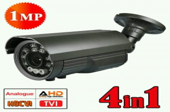 CCTV Camera 100m IR 5-100mm Verifocal New