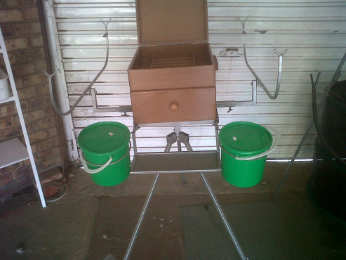 new fishing stand