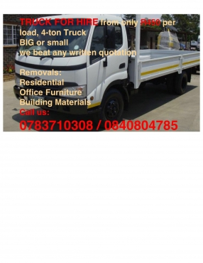 Truck to rent