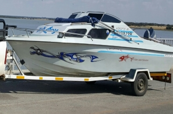 186 interceptor cabin cruiser 90hp yamaha