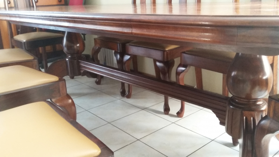 Dining Room Table 8 Seater And Sideboard Solid Imbuia