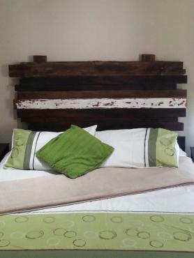 Rustic Wood Headboard for Sale